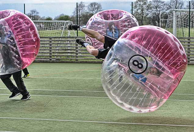 Manchester Zorb Football Stag Do Bubble Football