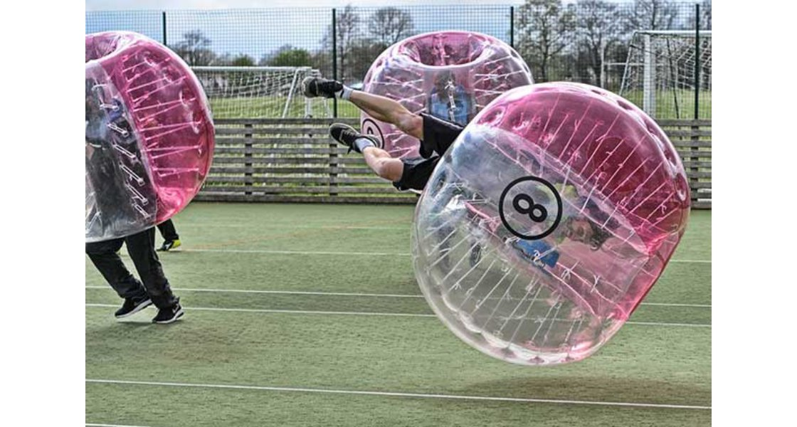 Newquay Zorb Football Stag Do Bubble Football