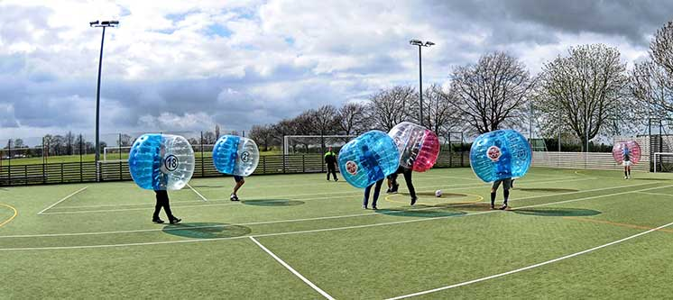 Zorb Football Stag Party
