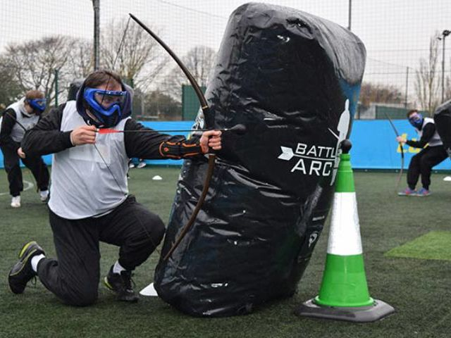Archery Battle Zone Tag Team Building London