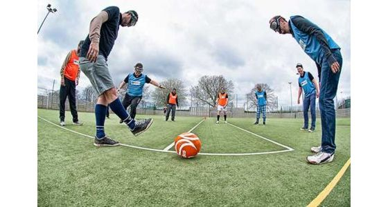 Binocular Football Team Building Leeds