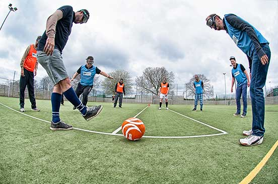 Binocular Football Team Building Southampton