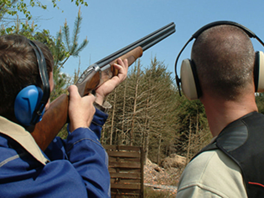 Clay Pigeon shooting & Paintballing Team Building