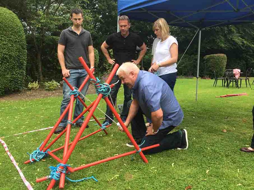 Crystal Maze Team Building Event