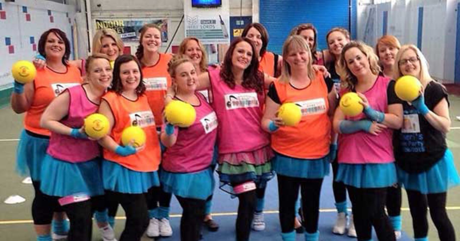 Disco Dodgeball Team Building Brighton