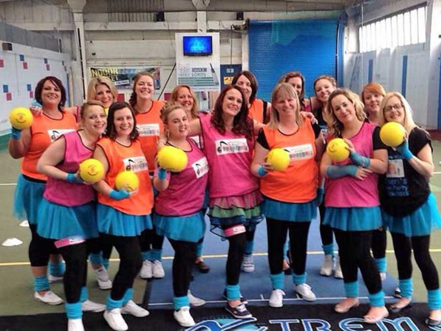 Disco Dodgeball Team Building Hull