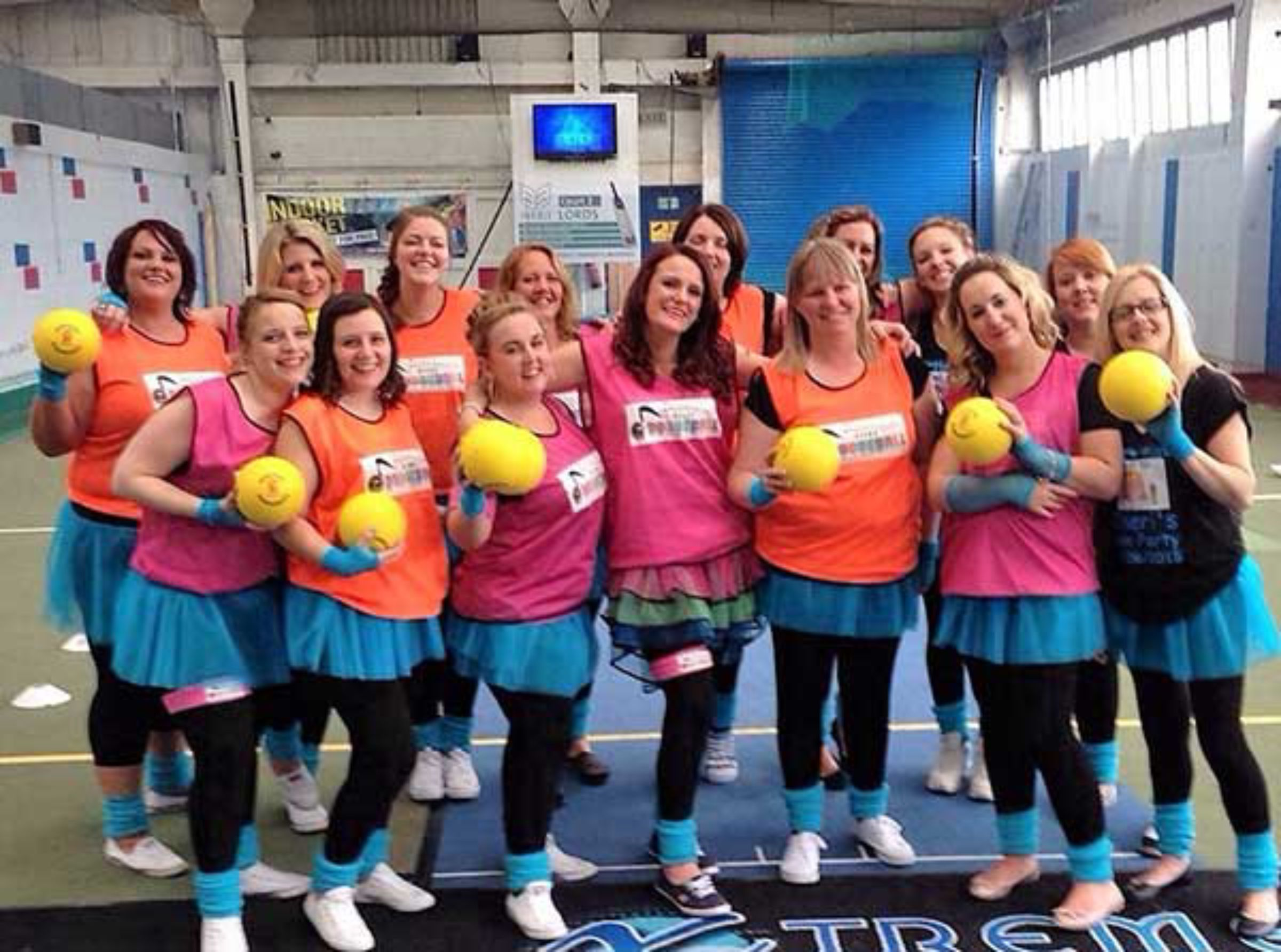 Disco Dodgeball Team Building London