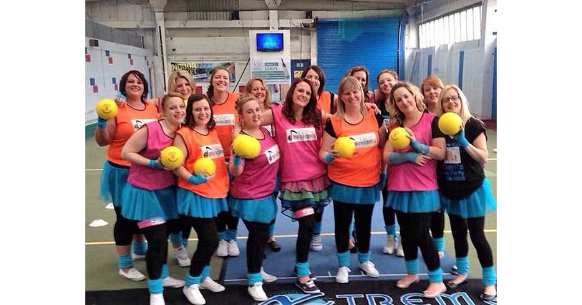 Disco Dodgeball Team Building Southampton