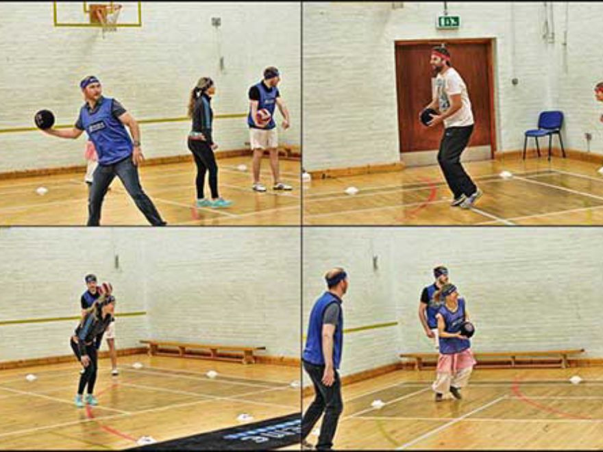 Dodgeball Team Building Southampton