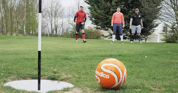 Footgolf Team Building Leicester