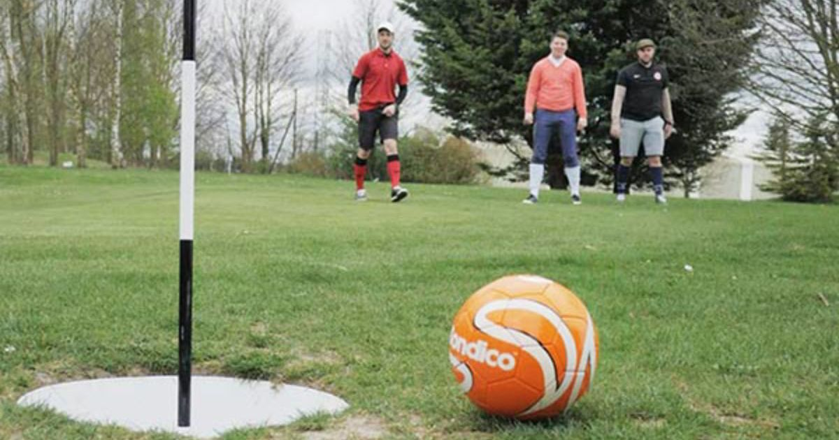 Footgolf Team Building Portsmouth