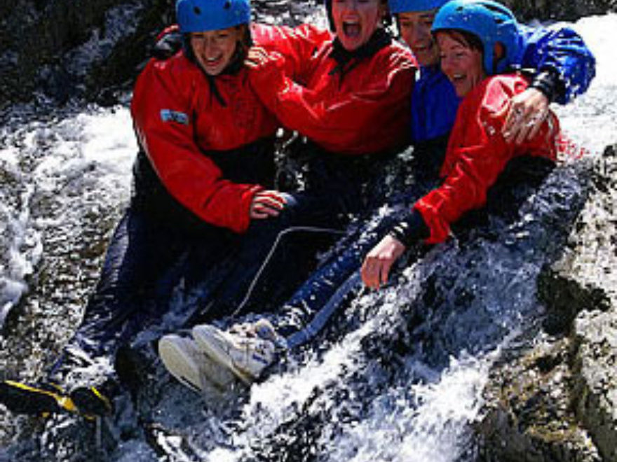 Ghyll Scrambling Team Building Lake District