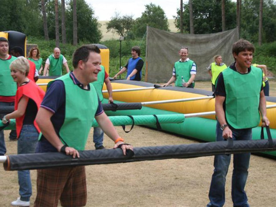 Human Table Football Team Building Nottingham