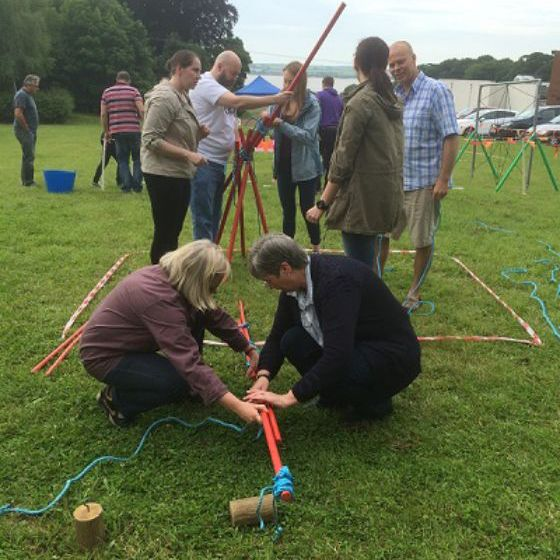 Krypton Factor Team Building