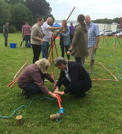 Krypton Factor Team Building Aberdeen