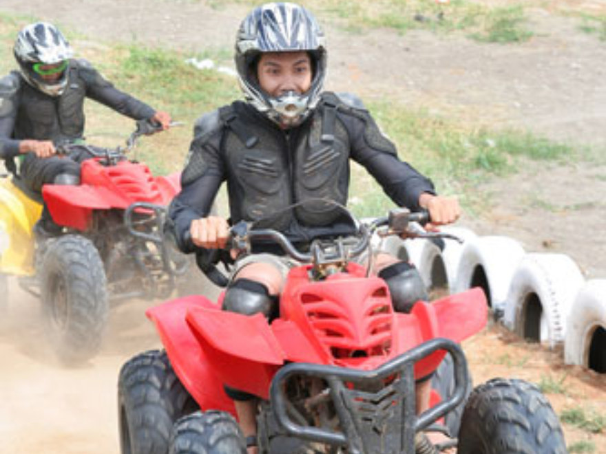 Quad Biking & Archery Team Building Lake District