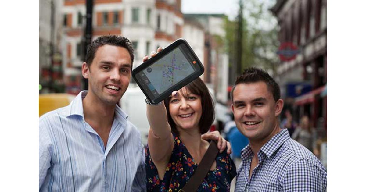 Smartphone City Treasure Hunt Team Building Liverpool