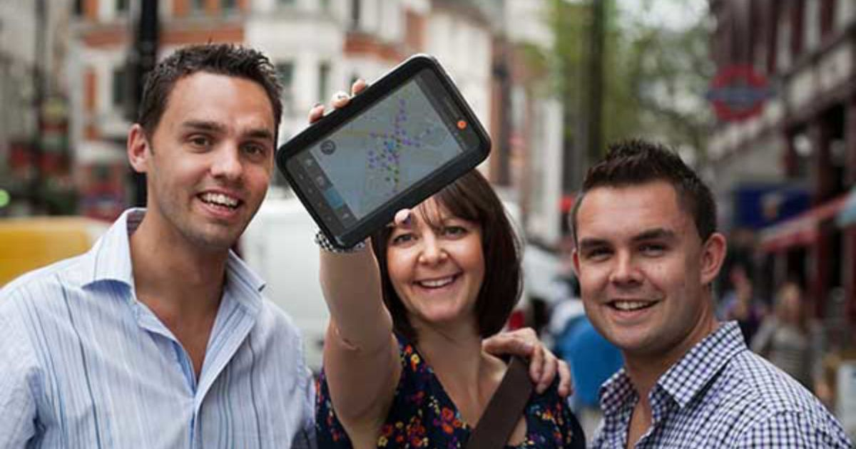 Smartphone City Treasure Hunt Team Building Portsmouth