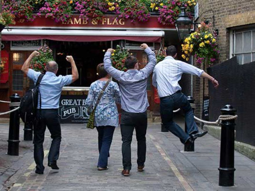 Smartphone Pub Treasure Hunt Team Building Activity