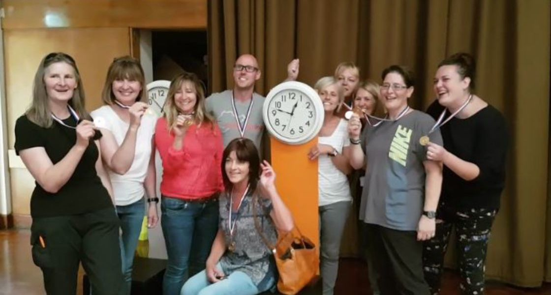 Stop the Clocks Team Building
