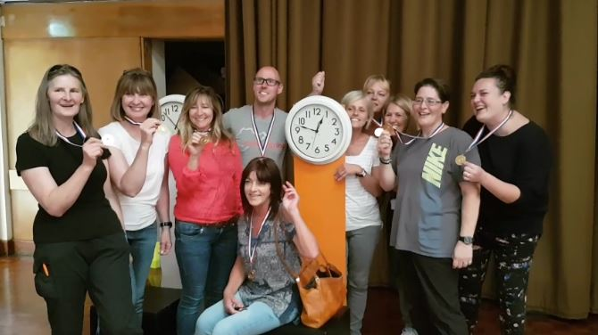 Stop the Clocks Team Building Bournemouth