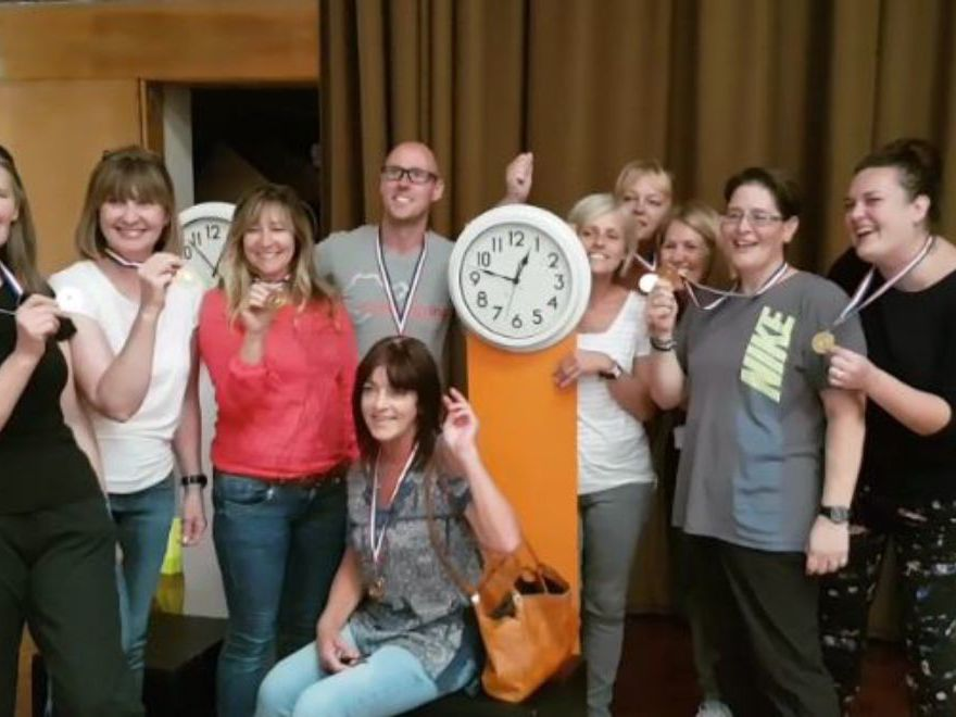 Stop the Clocks Team Building Hull