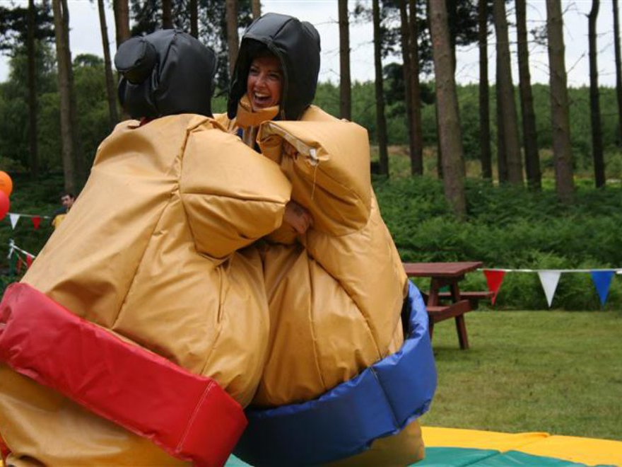 Sumo Wrestling Team Building Nottingham