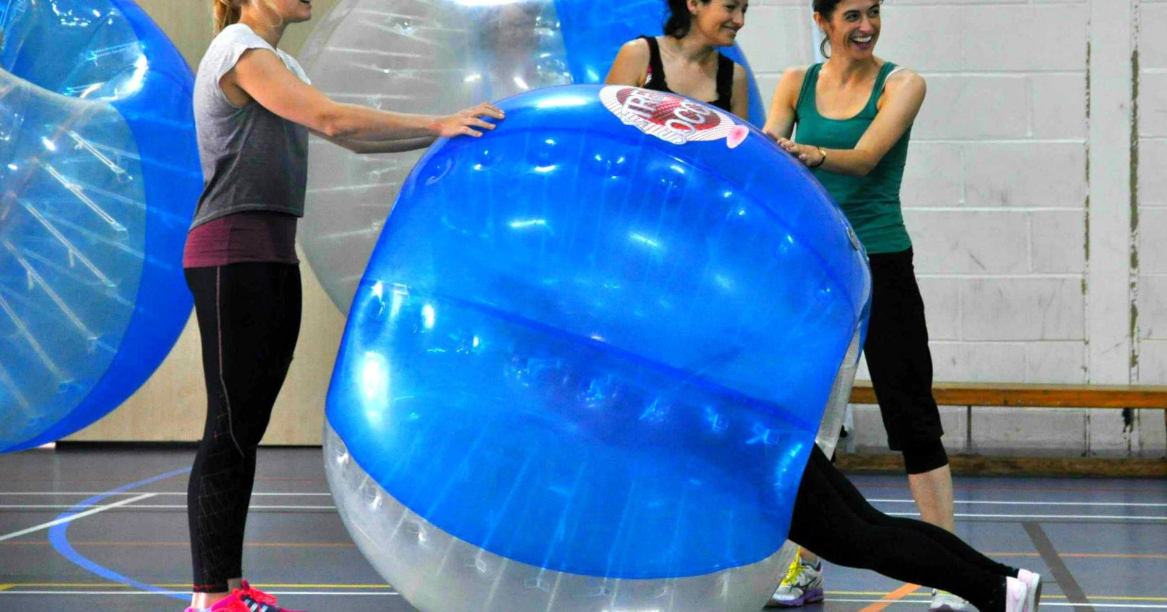 Zorb Bubble Games Team Building Blackpool