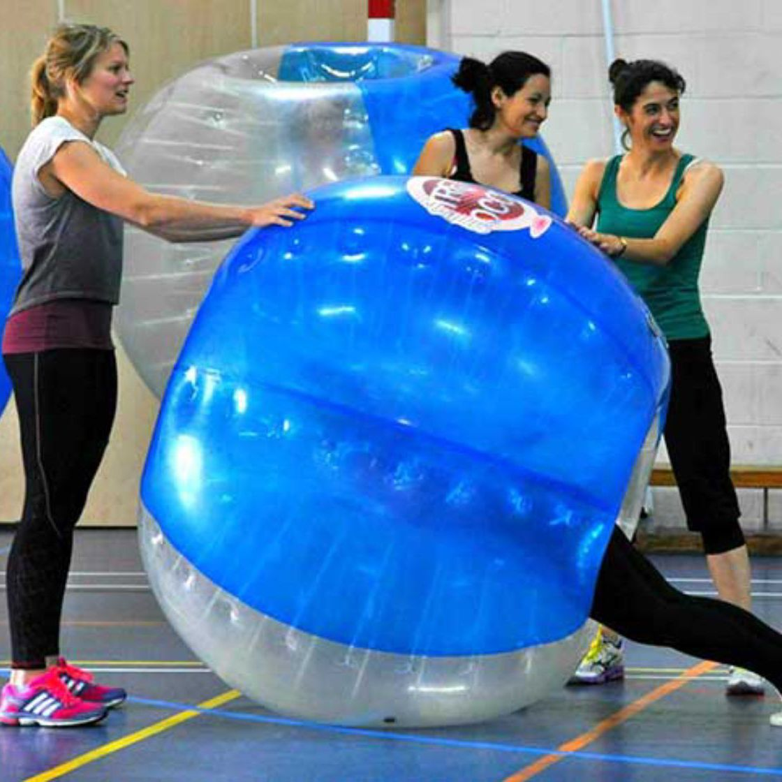 Zorb Bubble Games Team Building Southampton