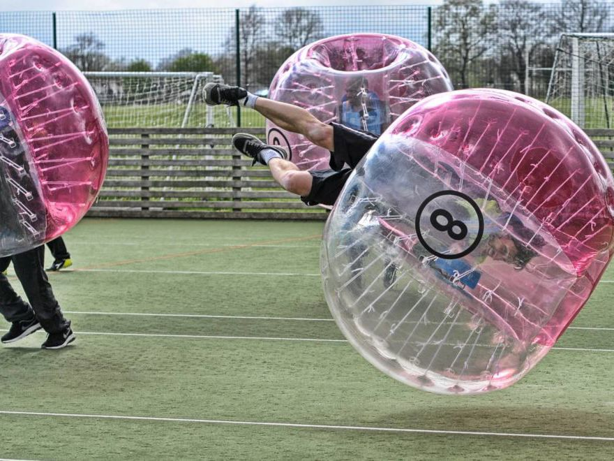 Zorb Football Team Building Blackpool