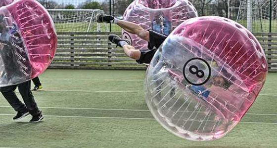 Zorb Football Team Building Hull